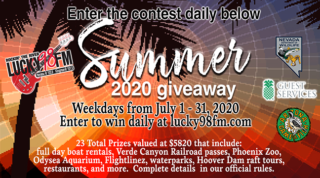 Enter to Win the Lucky 98 Summer 2020 Giveaway