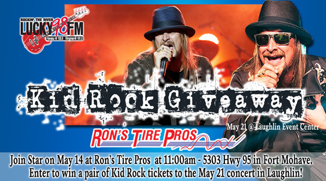 The Kid Rock Giveaway at Ron's Tire Pros