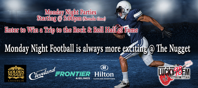 Monday Night Football @ The Nugget!
