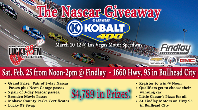 The Nascar Giveaway