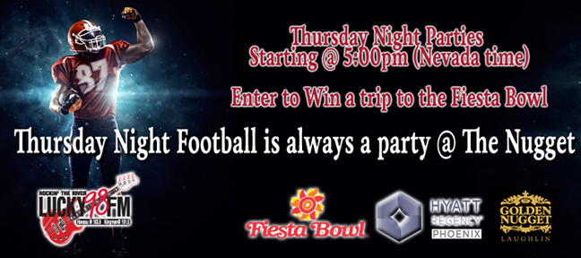 Thursday Night Football @ The Nugget!