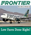 Frontier Airlines - Low Fares Done Right!